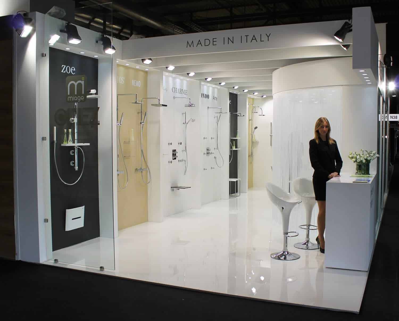 Salone internazionale del bagno stand realizzati da stand lac e milano - Fiera del bagno ...