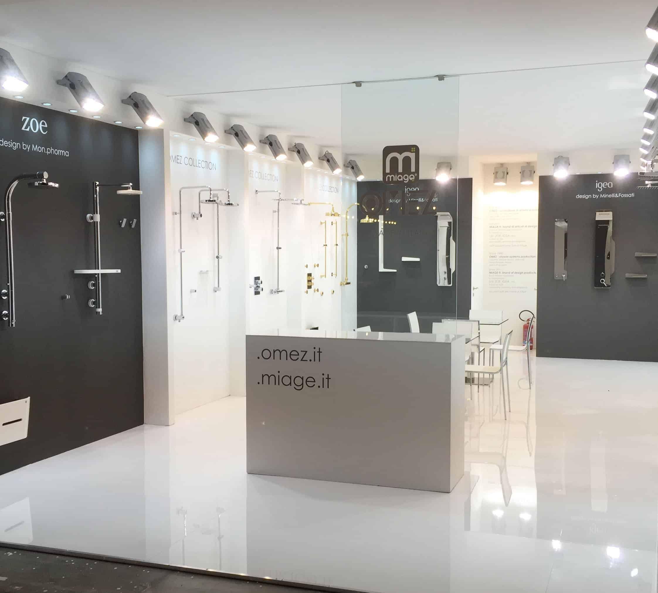 Salone internazionale del bagno stand realizzati da stand lac e milano - Fiera del bagno bologna ...