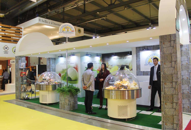 Tuttofood stand fieristici e allestimenti realizzati da for Design milano fiera