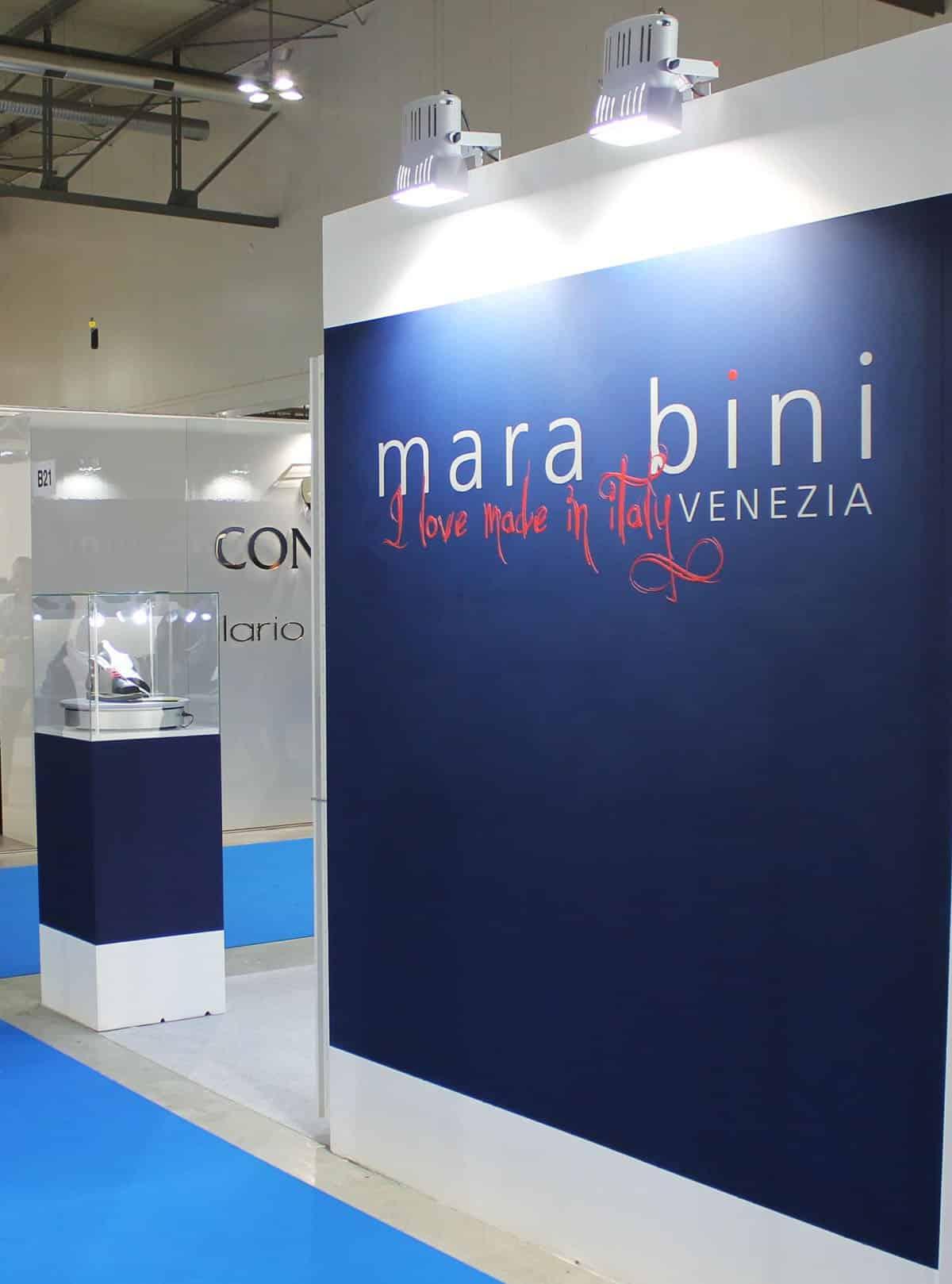 Allestimenti fieristici Milano Fiera THE MICAM Stand mara bini