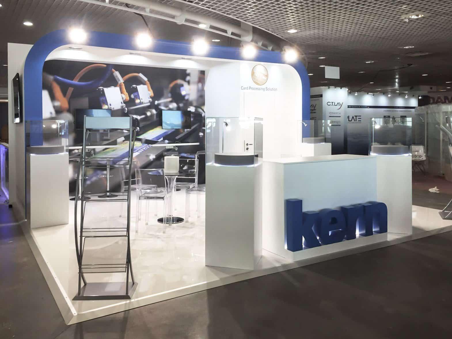 allestimento stand fieristici Cannes Trustech Kern Italia