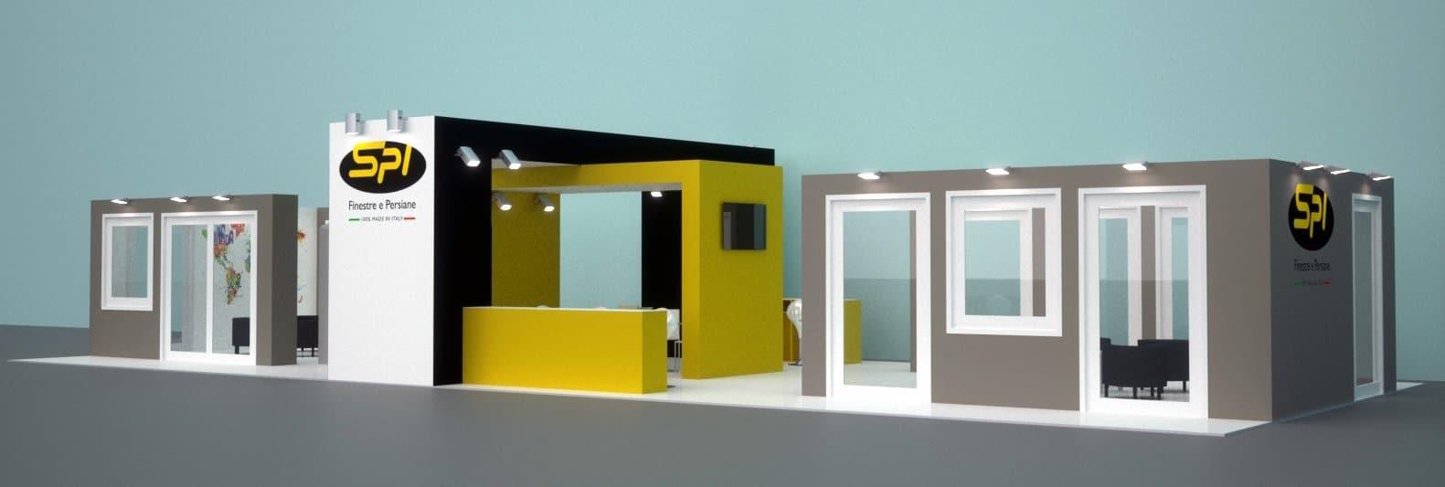 Allestimenti fieristici Milano stand MADE EXPO 01
