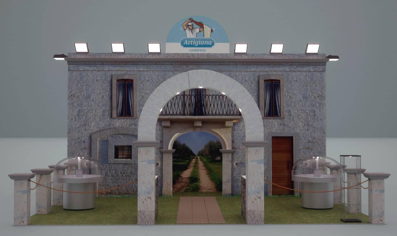Allestimenti fieristici milano stand TUTTOFOOD 03